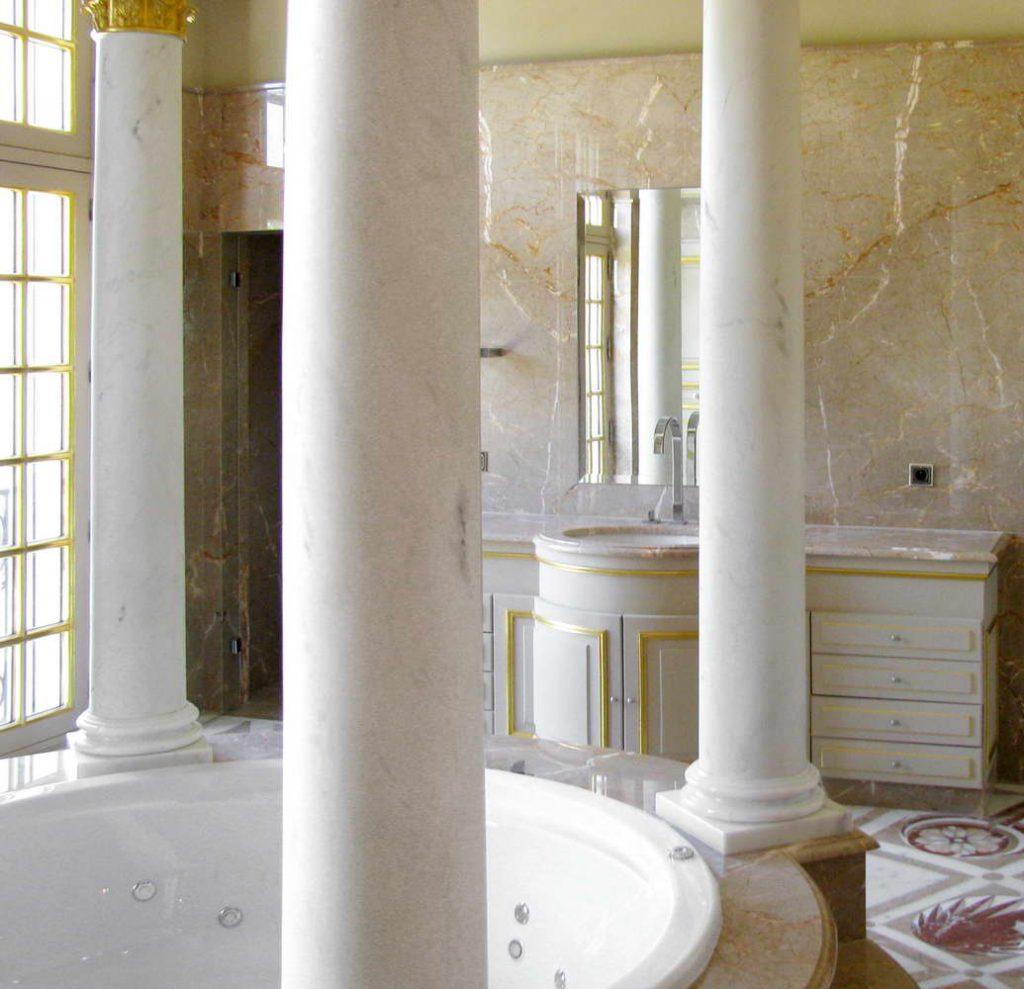 Rivestimenti per interni in marmo pietra naturale e - Scale in granito per interni ...