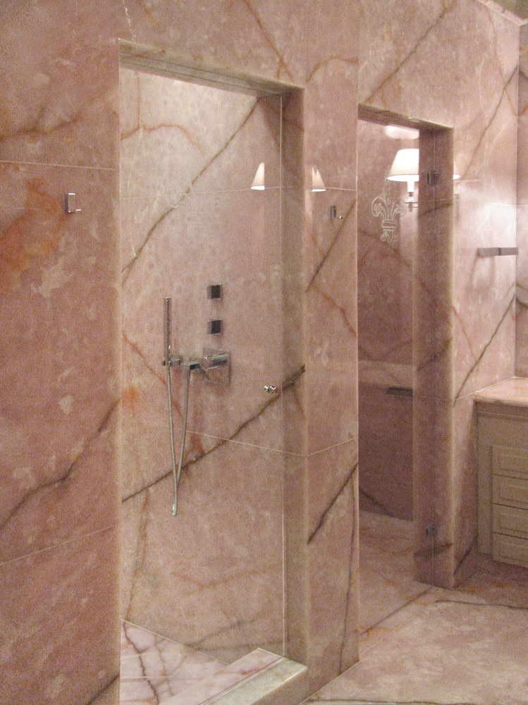 Bagno in marmo granito e pietra naturale piatto doccia - Bagno di marmo ...