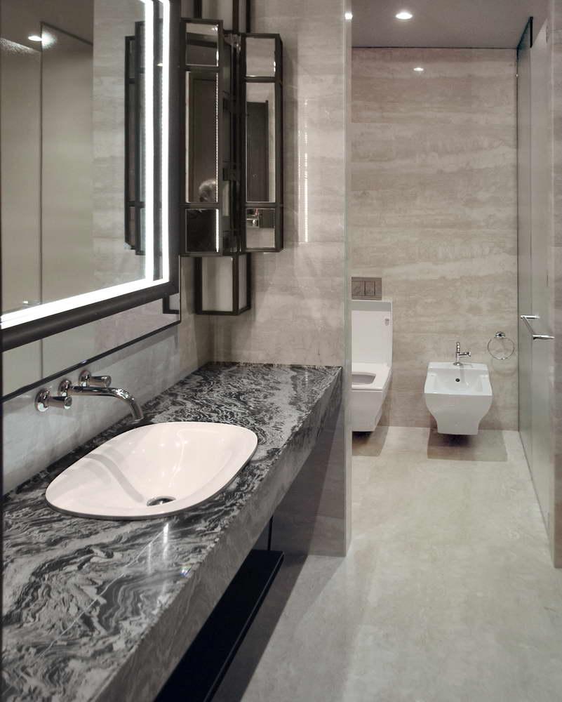 Bagno in marmo granito e pietra naturale, Piatto Doccia Marmo, Lavandino