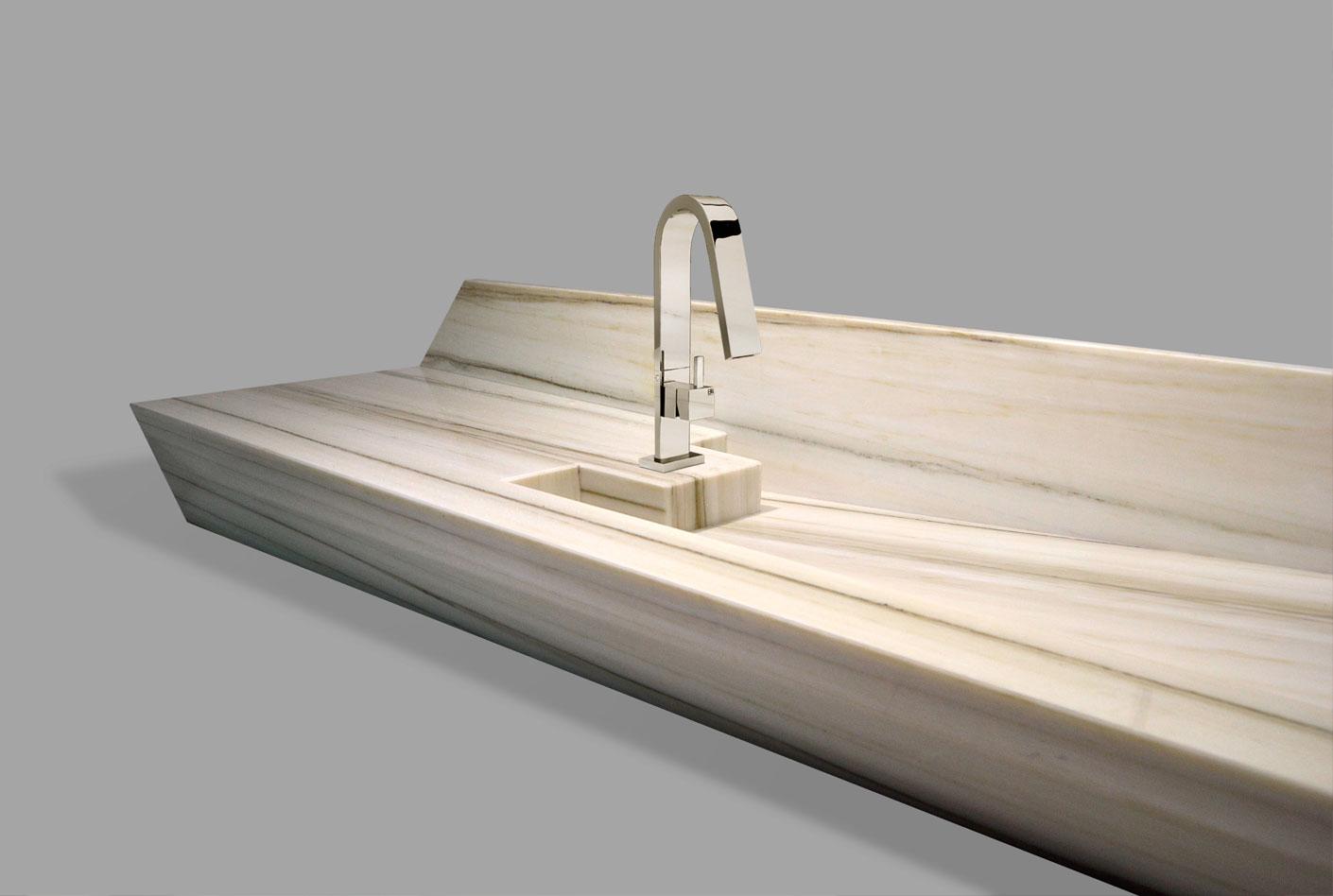 Etrusca Marmi lavabo moderno in marmo