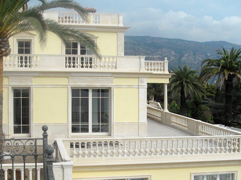 Residenza Privata Stile Neoclassico - Rivestimento Esterni Marmo