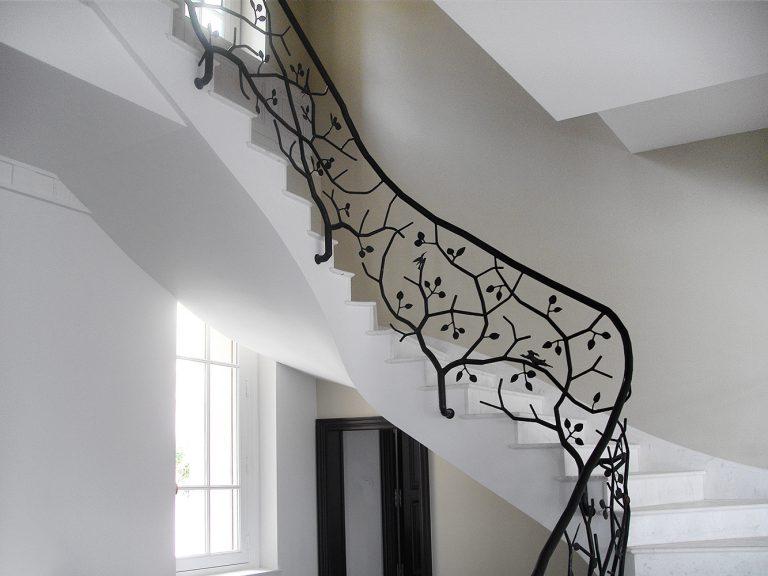 Residenza Privata Stile Neoclassico - Scala